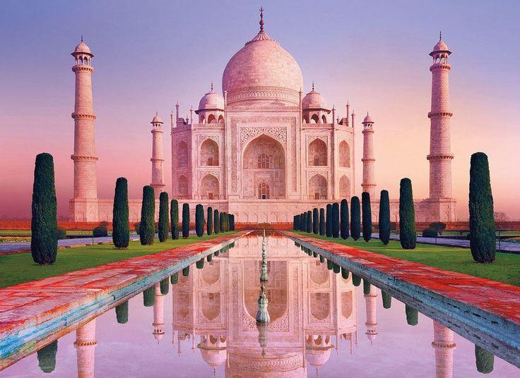 Clementoni Puzzle 1000 Teile Tadsch Mahal (39294) Taj Mahal Kronenpalast in Spielzeug, Puzzles & Geduldspiele, Puzzles   eBay