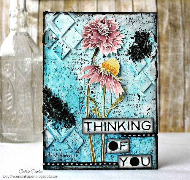 Daydreams In Paper: Simon Says Stamp Monday Challenge - Splash It On