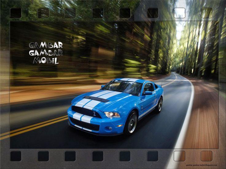 gambar mobil mustang