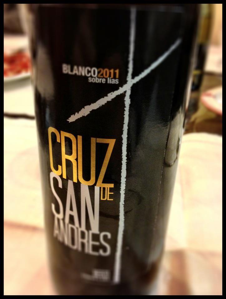 El Alma del Vino.: Aurelio Feo Viticultor Cruz de San Andrés Blanco 2011.