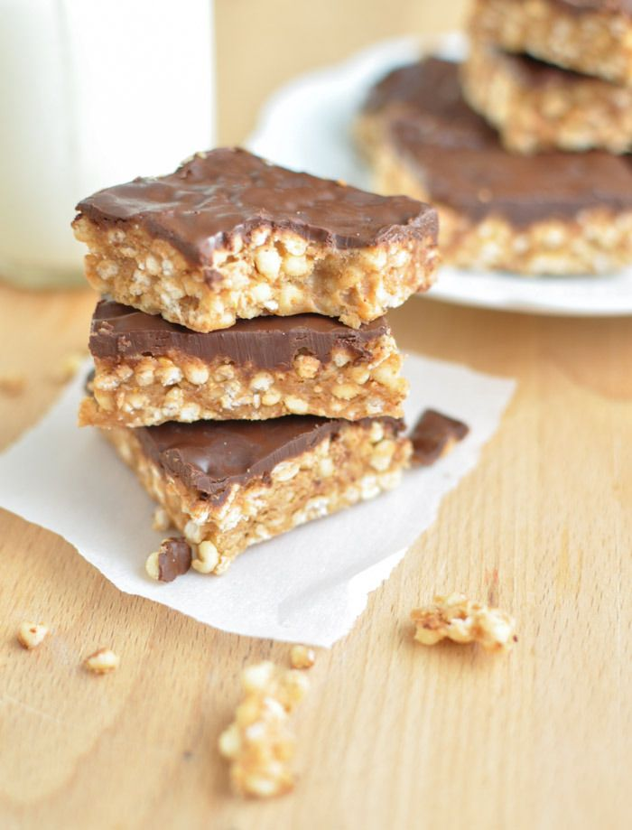 87 best macro friendly desserts images on pinterest clean eating peanut butter chocolate puffed millet bars 5 ingredient no bake clean eating gluten free vegan dairy free forumfinder Images