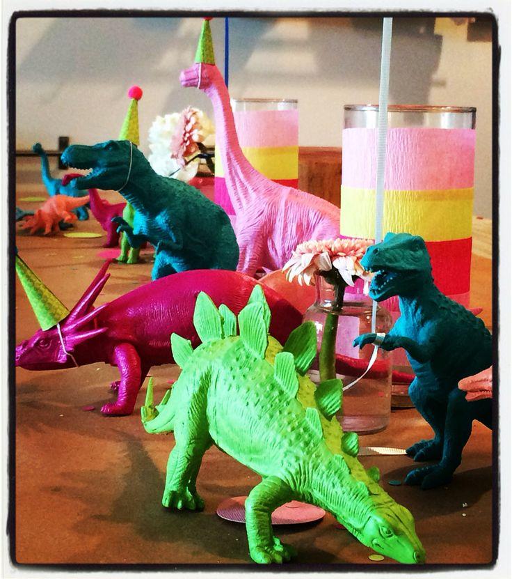 Girls Dinosaur Birthday Party