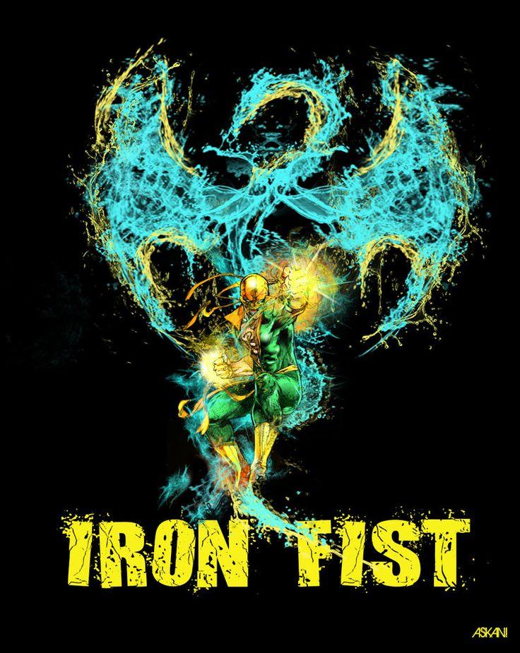 Iron fist by askani12 on DeviantArt