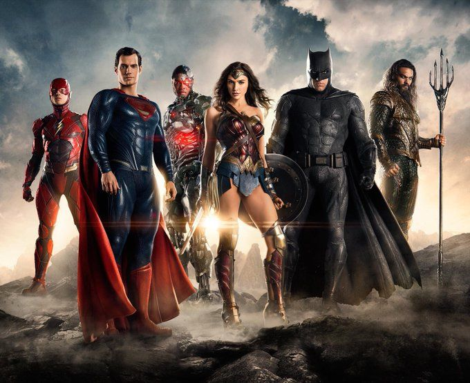 Justice League official picture
