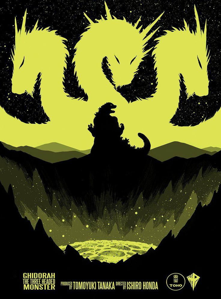 Godzilla Art Posters