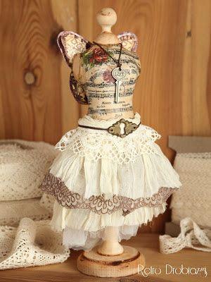 vintage dummy, manequin, dress form