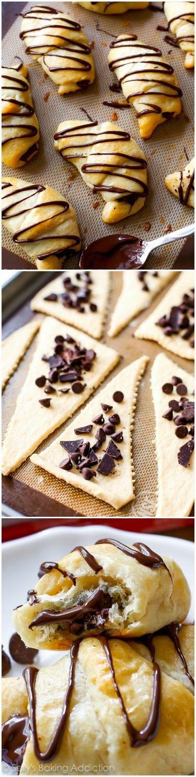 20 Minute #Chocolate #Croissants