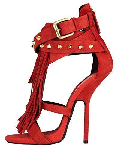 Onlymaker Damenschuhe High Heels Open Freie Toe Zip Reissverschluss Sandale Wildleder Fransen Rot EU38 Onlymaker http://www.amazon.de/dp/B00N9Q205K/ref=cm_sw_r_pi_dp_lK.iub0842VWS
