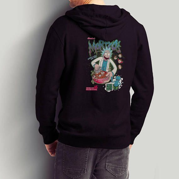 Mortyo's Spacey Cereals / Rick and Morty Pullover and