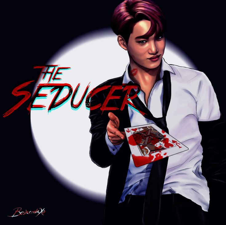 The Seducer EXO Mafia AU Series 4/9 Xiumin, Suho, Lay, Baekhyun, Chen, Chanyeol, Kyungsoo, Kai, Sehun (Click here for the full size) Again thank you @creepybaekkie for the name and the idea!