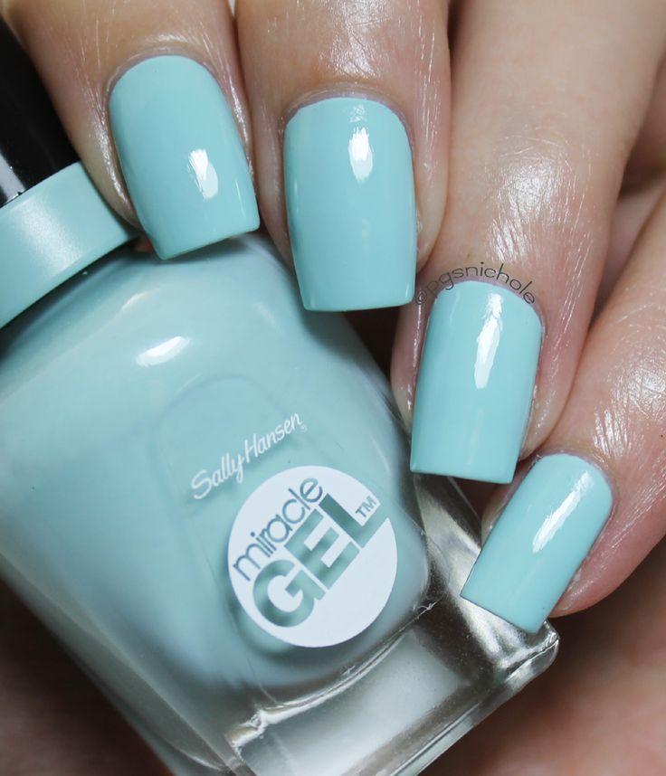 Best 25+ Light Blue Nail Polish Ideas On Pinterest