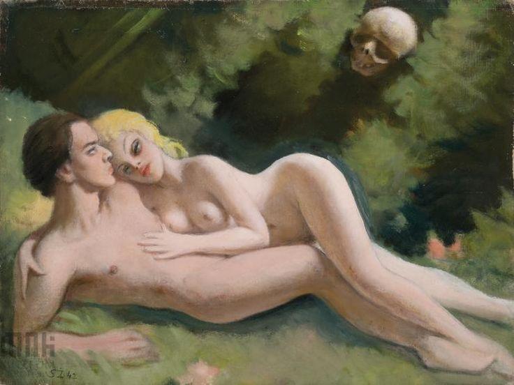 Stefan Żechowski (1912-1984), Miłość i śmierć, 1942 r.