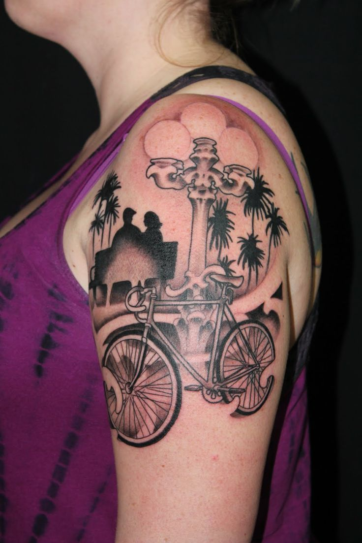 109 best bicycle tattoos images on pinterest | art print, artists