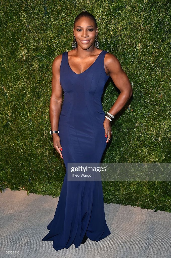 Tennis player Serena Williams attends the 11th annual CFDA/Vogue Fashion Fund Awards at Spring Studios on November 3, 2014 in New York City.