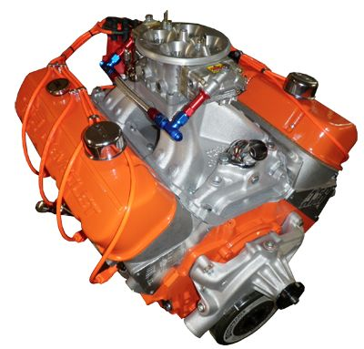 Chevy's 572 cubic inch crate motor...pumps out 720 hp right out of the crate