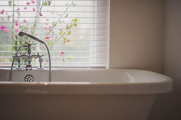 View from your second story bathtub at The Last Word Franschhoek. Unwind here.