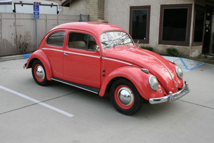 1957 Volkswagen Beetle - Classic Euro Model Oval Hardtop
