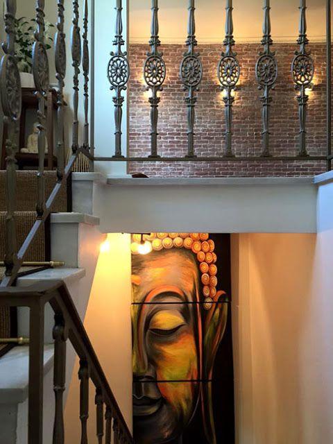 Dream-Art.gr: YIN YANG balance Ζωγραφική σε καμβά, Βούδας! www.d...