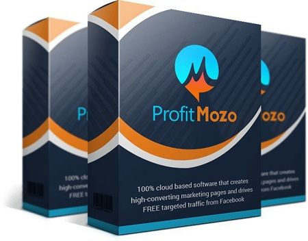 ProfitMozo is an mazing fast and easy, 100% cloud-based 1-click landing page builder that creates high converting marketing pages and also drives tons of traffic from facebook