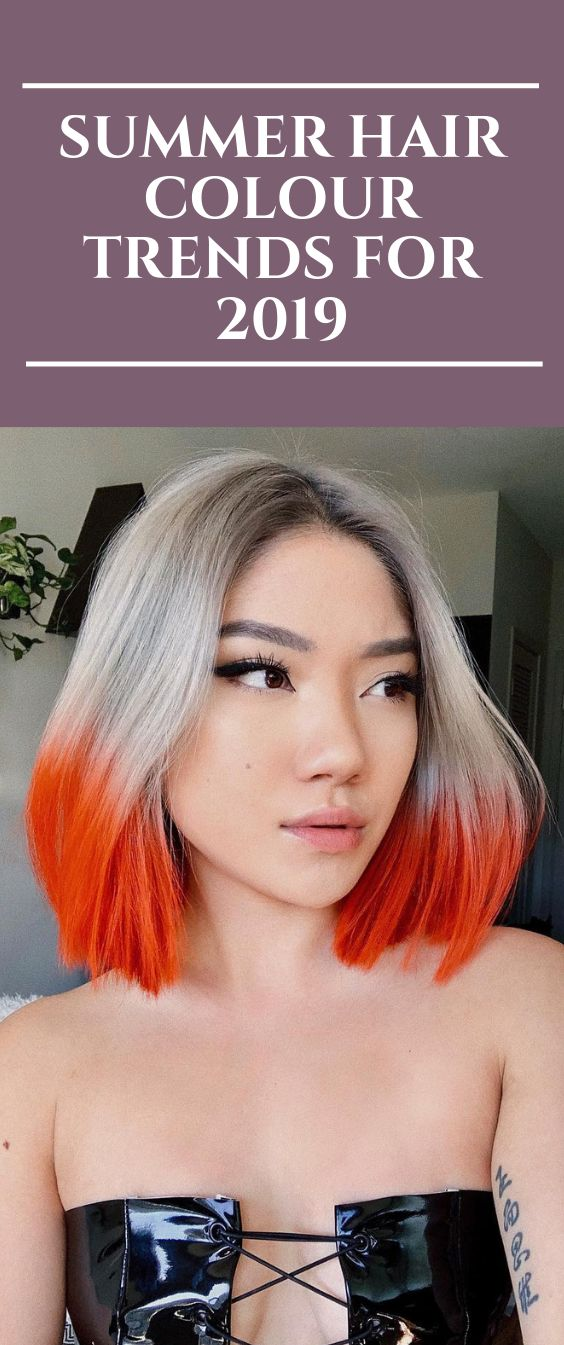 Summer Hair Colour Trends For 2019  #hairstyles #hairColour #haircut #Summer #ha…