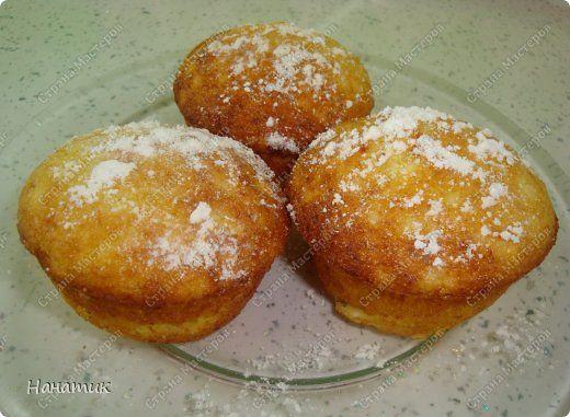 Кулинария Мастер-класс Рецепт кулинарный Творожные кексы Продукты пищевые фото 1