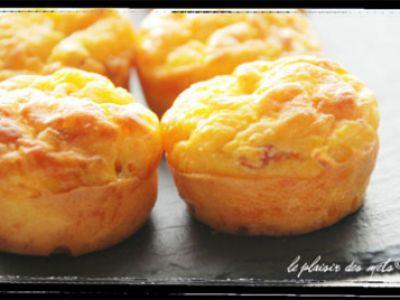 Recette - Mini muffins au potiron et comté | 750g