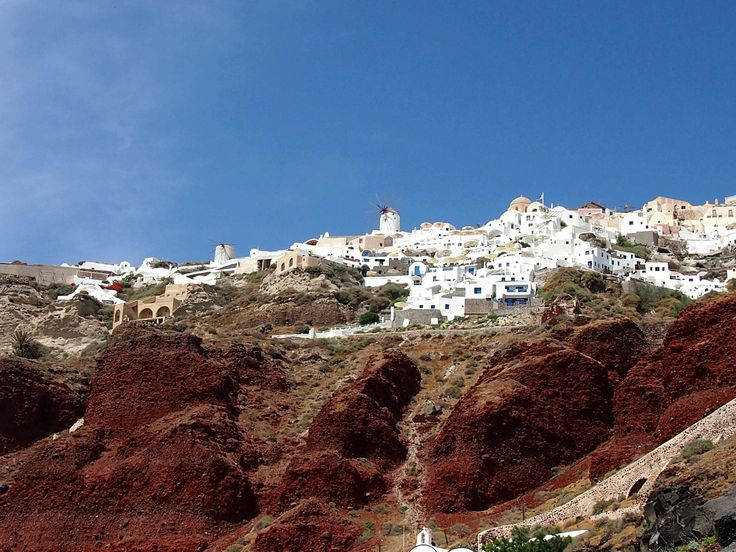 https://flic.kr/p/kopSmf   Santorini - Oia   Oia is a small town and former community in the South Aegean on the islands of Thira (Santorini) and Therasia, in the Cyclades.