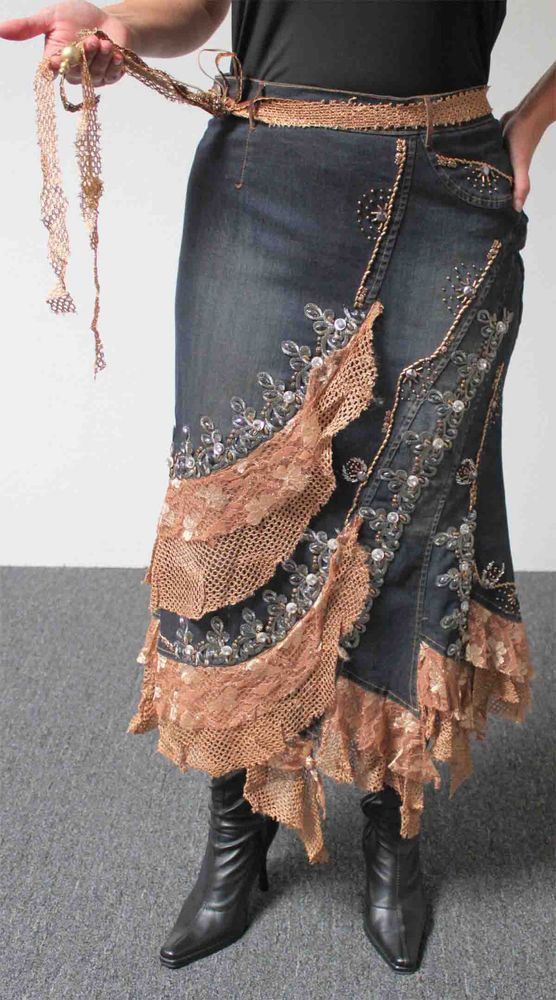 17 Best images about Denim Forever on Pinterest | Skirts, Hippies ...