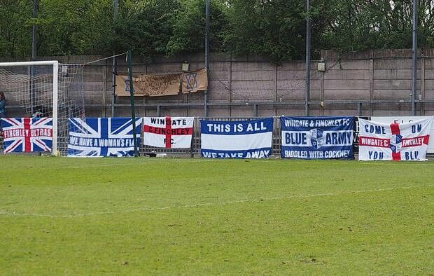 All our flags at Dulwich