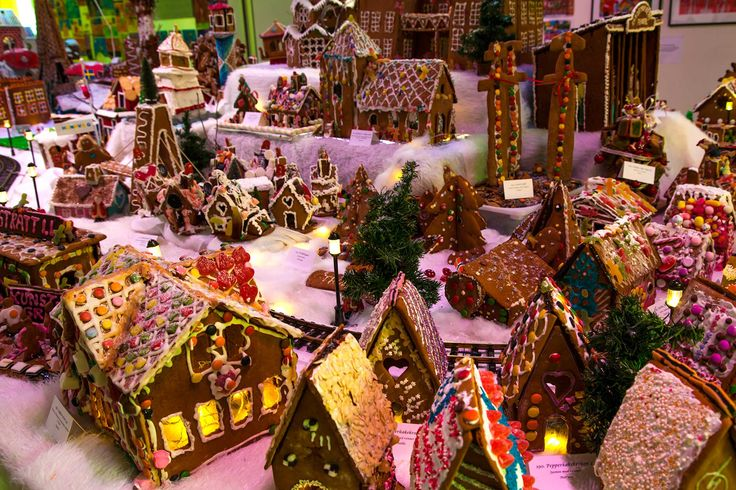 How to sell a gingerbread city?