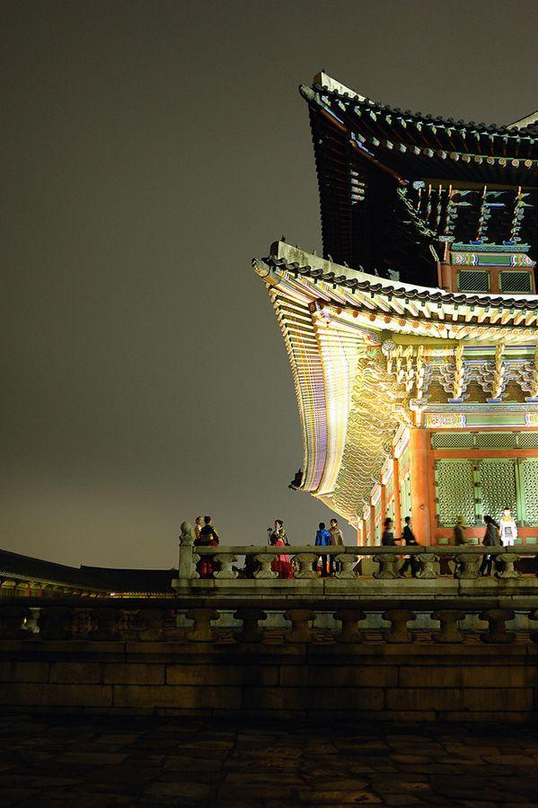 Korean traditional customs at Gyeong-bokgung Palace