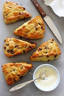 Zoet & Verleidelijk: Cranberry-sinaasappel scones