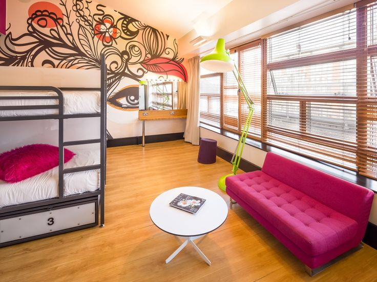 74 best images about hostel design ideas on pinterest for Hostel room interior design ideas