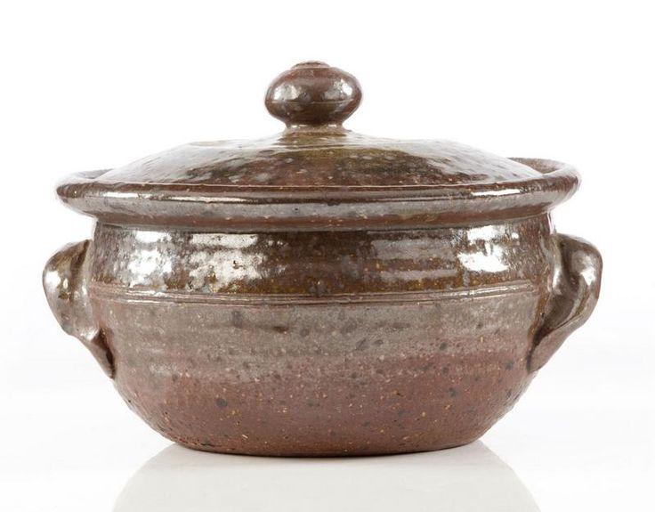 Barry Brickell, lidded casserole… - New Zealand Studio Ceramics - Webb's - Antiques Reporter