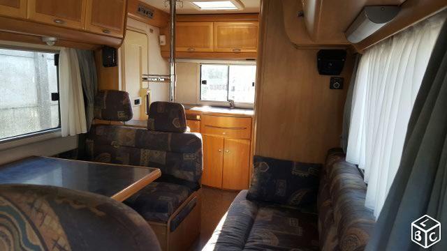 Camping car integral hymer 544 b 77000 km