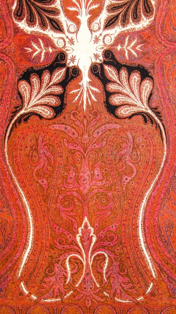 Kashmir Paisley Shawl – Shoulder Mantel. Sikh – Dogra Period. 19th Century.