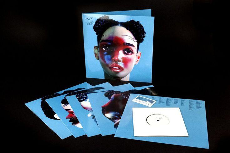 LP1 - FKA Twigs   Creative Vinyls Record Sleeve Design   Award-winning Graphic Design   D&AD