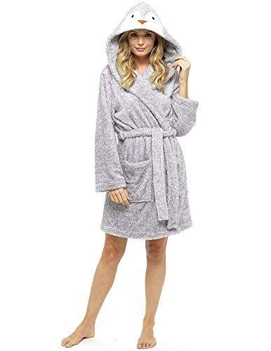 citycomfort luxus damen bademantel pluesch damen robe