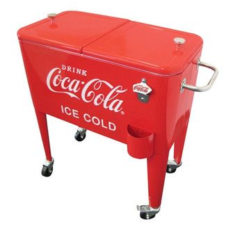Found it at Wayfair - United General Supply CO., INC Coca-Cola 60-Quart Ice Cold Heavy Duty Coolerhttp://www.wayfair.com/Coca-Cola-60-Quart-Ice-Cold-Heavy-Duty-Cooler-CP-98108-UTG1069.html?refid=SBP