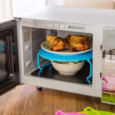 Kitchen Microwave Oven Shelf