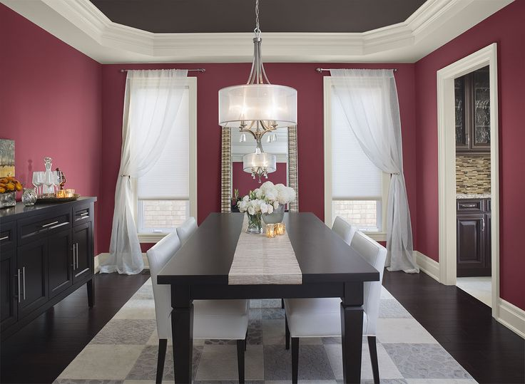 Wall Colour Inspiration: 25+ Best Ideas About Red Dining Rooms On Pinterest