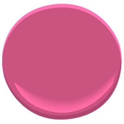 Chinoiserie Chic Decorators Favorite Hot Pink Razzle Dazzle by Benjamin Moore #1348 · Pink Paint