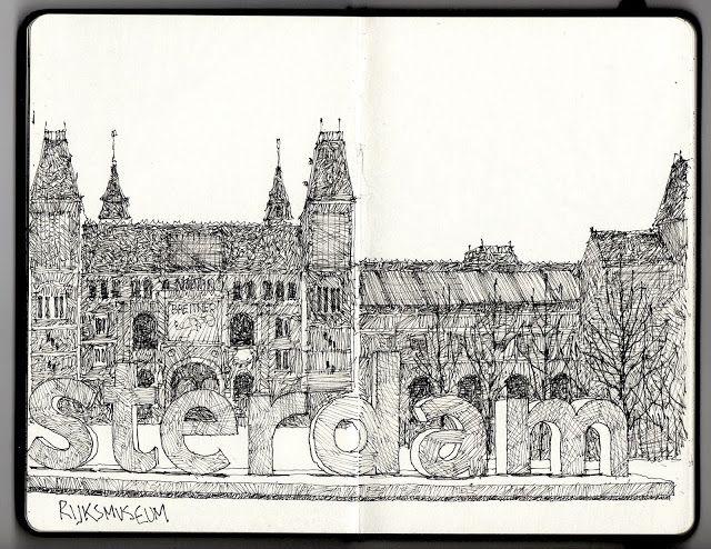 Ian Sidaway Fine Line: Amsterdam