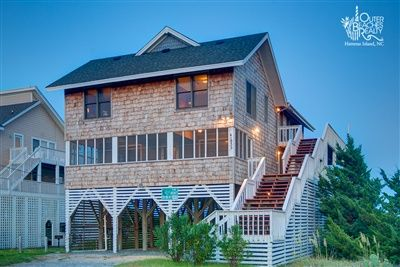Livin the Dream 103 is a 6 bedroom, 4 full bathroom Oceanfront vacation rental in Avon, NC. See photos, amenities, rates, availability and more details to book today! | Outer Banks Vacation Rentals - Hatteras Island, NC