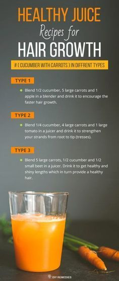 Cucumber+with+Carrots+Healthy+Juice+Recipes+for+Hair+Growth