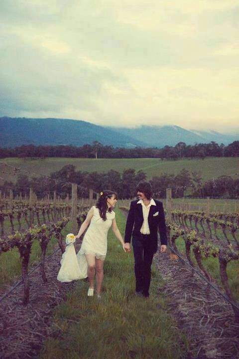 George Harrison and his wife Olivia Arias, wedding day.