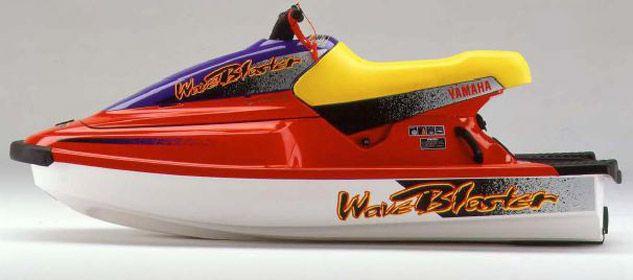 Yamaha Waveblaster Red Yamaha Personal Watercraft Water Crafts