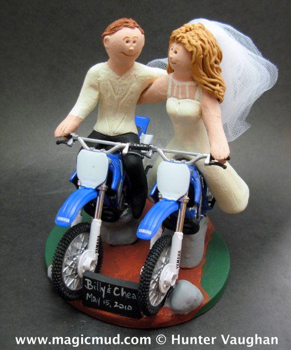Anniversary Gift for Honda Motorcycle Riders    KTM, Honda, Suzuki, Yamaha, Kawasaki, BMW….any model of dirt bike can be incorporated into your off road motorcycle wedding cake