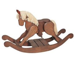 Here's a classic children's rocking horse that's sure to be a family heirloom. Build one yourself with di it yourself plans and step-by-step...