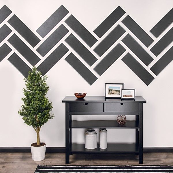 25 best ideas about striped accent walls on pinterest for Accent stripe wall